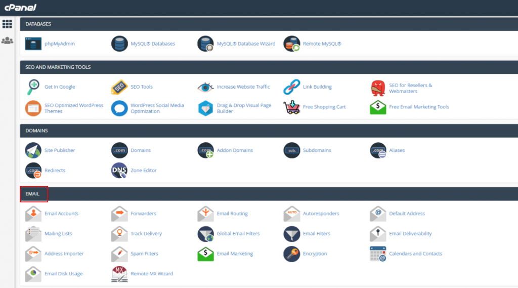 cPanel email in Thunderbird 5
