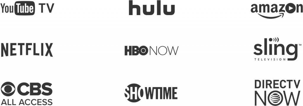 Available Streaming Services